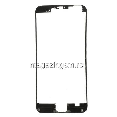 Rama Display iPhone 6 Plus Cu Adeziv Negru