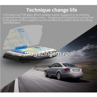 Suport Telefon Universal Tip Head Up Display Negru