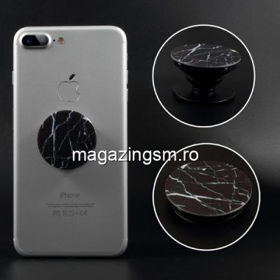 Suport Telefon iPhone XR Stand Finger Grip Universal Neagru