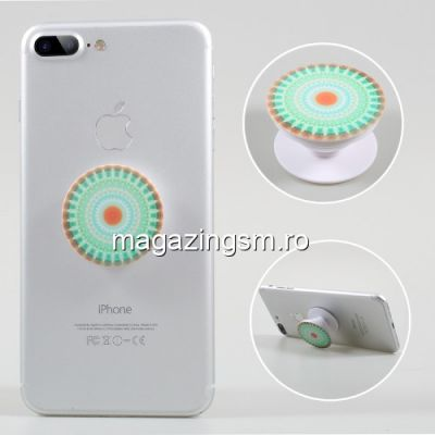Suport Telefon iPhone XS Stand Finger Grip Universal Verde