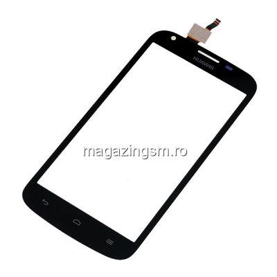 Touchscreen Cu Geam Huawei Y6 Negru