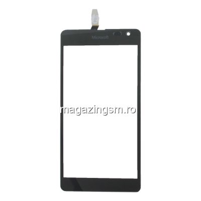Touchscreen Nokia Lumia 535 / 535 Dual SIM Versiunea 1973 Negru