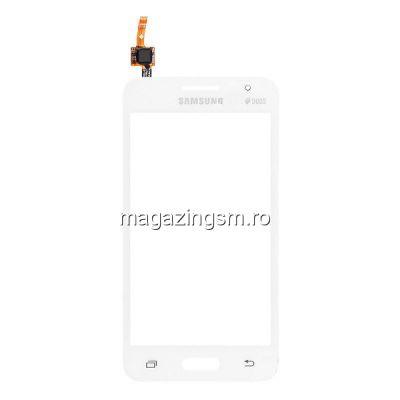 Touchscreen Samsung Galaxy Core II / Core 2 Dual SIM SM-G355H Alb