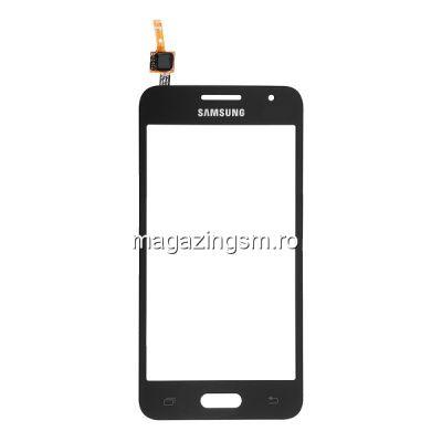 Touchscreen Samsung Galaxy Core II / Core 2 Dual SIM SM-G355H Negru