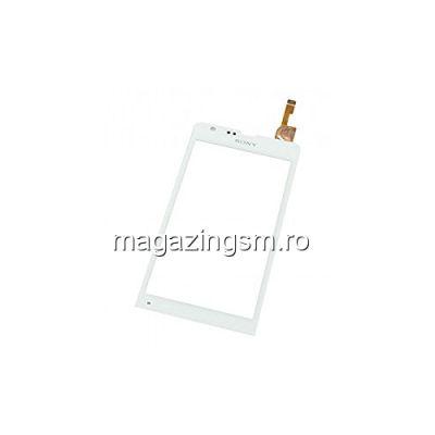 Touchscreen Sony Xperia SP HSPA C5302, Sony Xperia SP LTE C5303, Sony Xperia SP LTE C5306 Alb