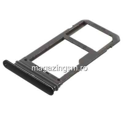 Suport Sim Si Card Samsung Galaxy S8 G950 Original Negru